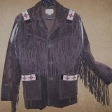 Native American Style Leather Jacket
