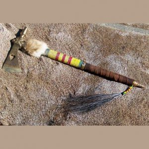 Native American Style Smoke Hawk Pipe Tomahawk
