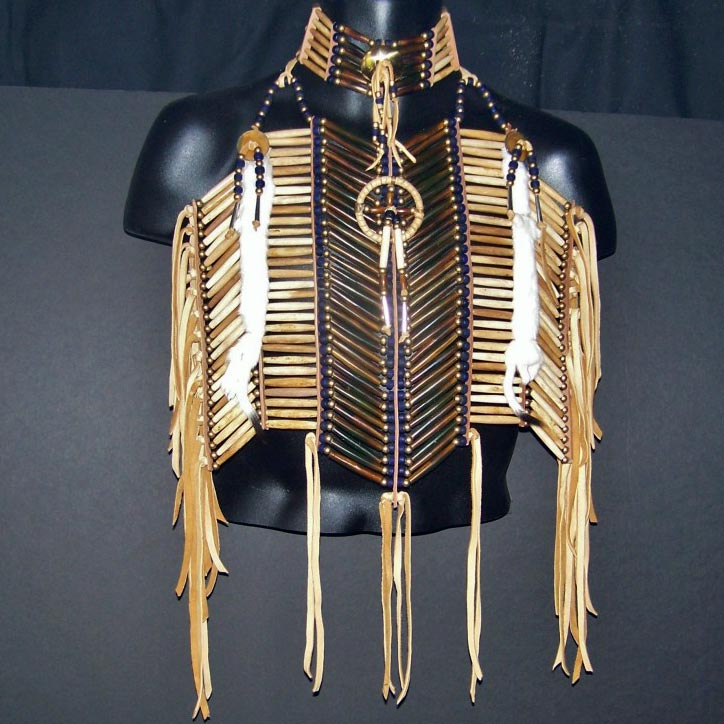 Medicine Wheel Breastplate and Matching Choker