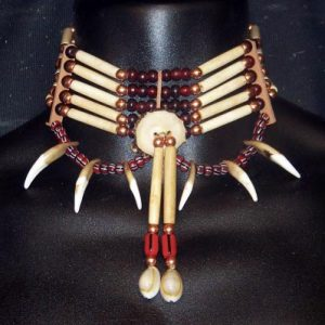 Coyote Tooth Hairpipe Bone Choker