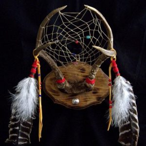 Deer Antler Dreamcatcher