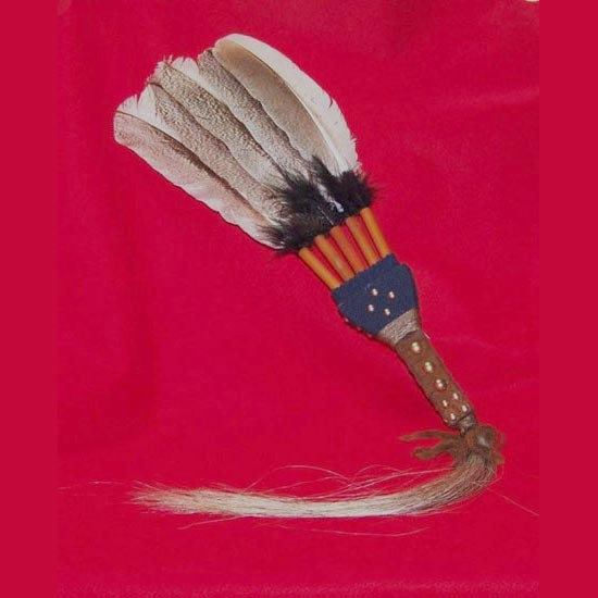 Feather Fan Lost River Trading Co