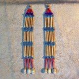 Antiqued Bone Earrings