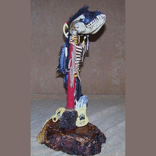 Fox Skull Spirit Chaser