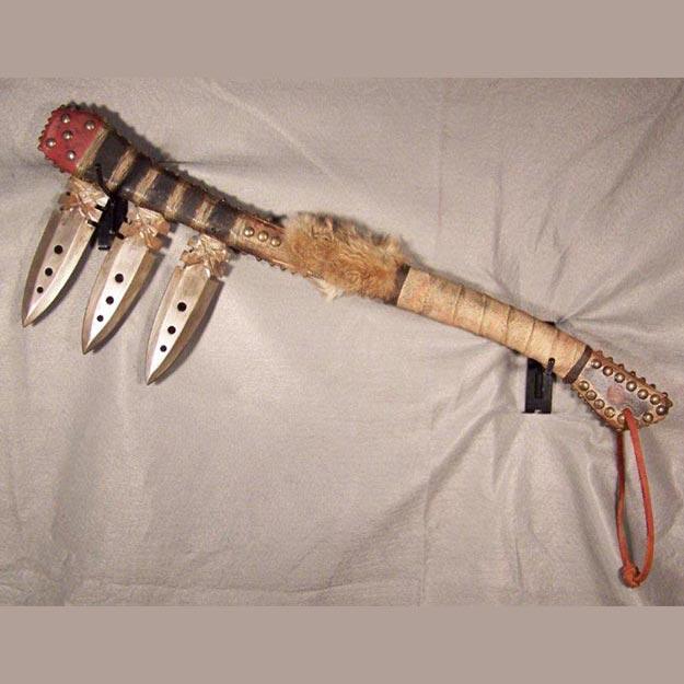Native American Style Mankiller War Club