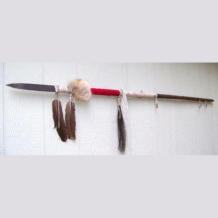 Native American Style War Lance